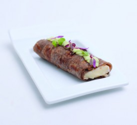 Cold Buckwheat Crepe with Brie Cheese