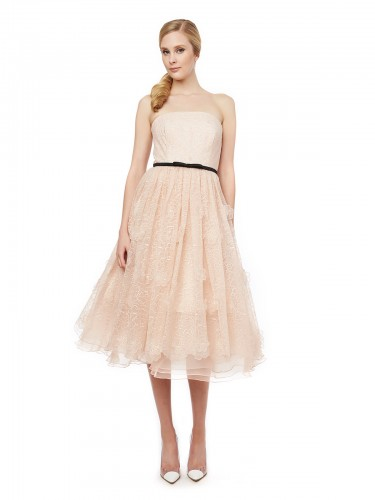 Lucielle_3D Floral Organza Dress_$695