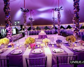 TENTED FLORAL PARADISE