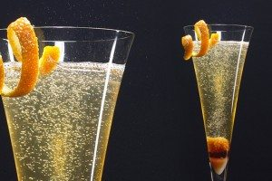 the French 75 classic cocktail
