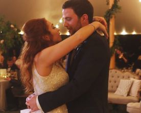 Real Wedding: Caroline Majeed and Brad Savon