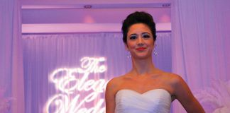 The Elegant Wedding Showcase fashion runway show