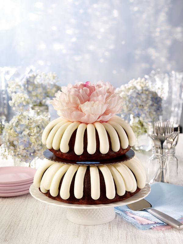 Pink-Tiered Cake