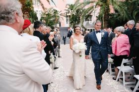 Real Wedding: Tiffany Bleile and Tom Daly