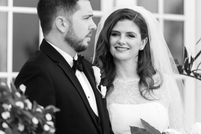 Real Wedding: Adrienne Dameron and Kevin Whittier