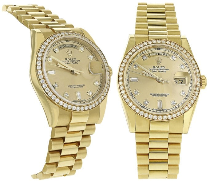 Rolex watch gift for groom