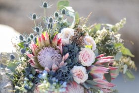 Tampa Bay Weddings Inspiration - Cool Hued Floral Design