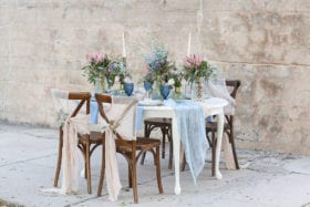 Tampa Bay Wedding Inspiration - Cool Hues Under a Warm Southern Sky