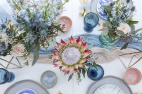 Tampa Bay Weddings Inspiration - Cool Hues Under a Warm Southern Sky